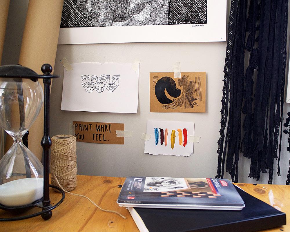 creative spaces owlet art home studio inspiration
