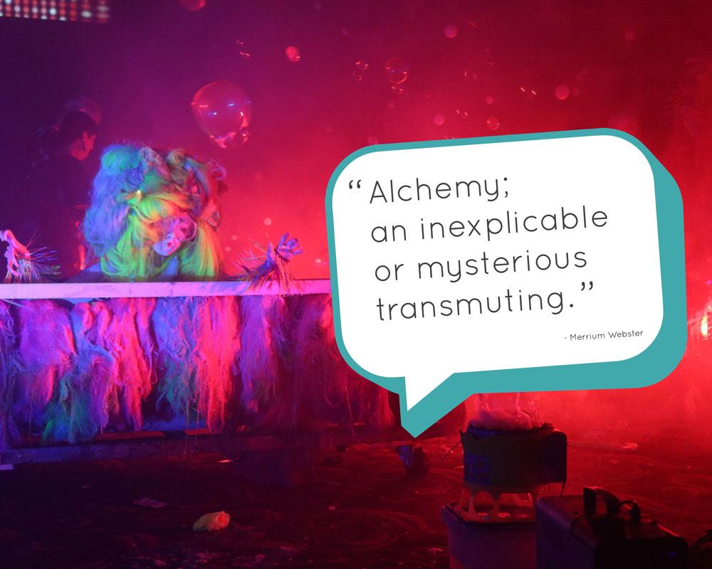 Test Kitchen Blog - Theatre of Thunder - Merrium Webster quote