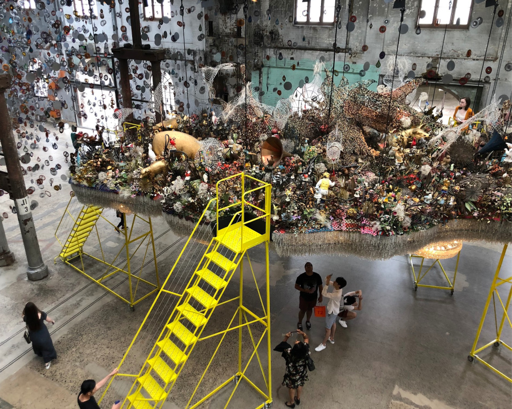 Crystal Cloudscape Nick Cave at Carriageworks Test Kitchen Review