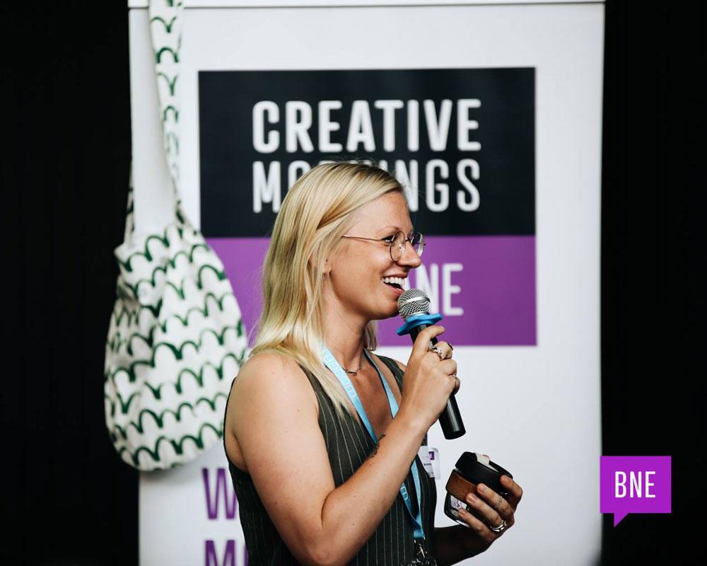 CreativeMornings Brisbane Chapter Host, Hillary Wall